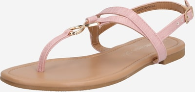 NEW LOOK Sandale 'HOOPER' in rosa: Frontalansicht
