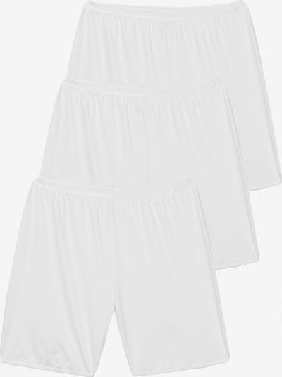 Ulla Popken Spodnje hlače | bela barva, Prikaz izdelka