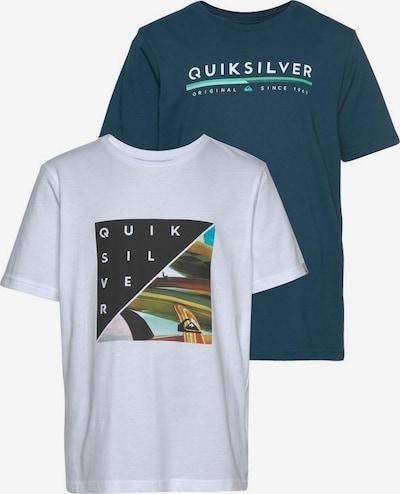 QUIKSILVER T-Shirt 'RETRO STAX FLAXTON PACK YOUTH' in mischfarben / weiß, Produktansicht