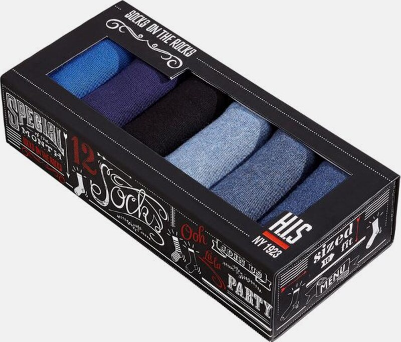 His Socks In A Beautiful Box (6 Pair)