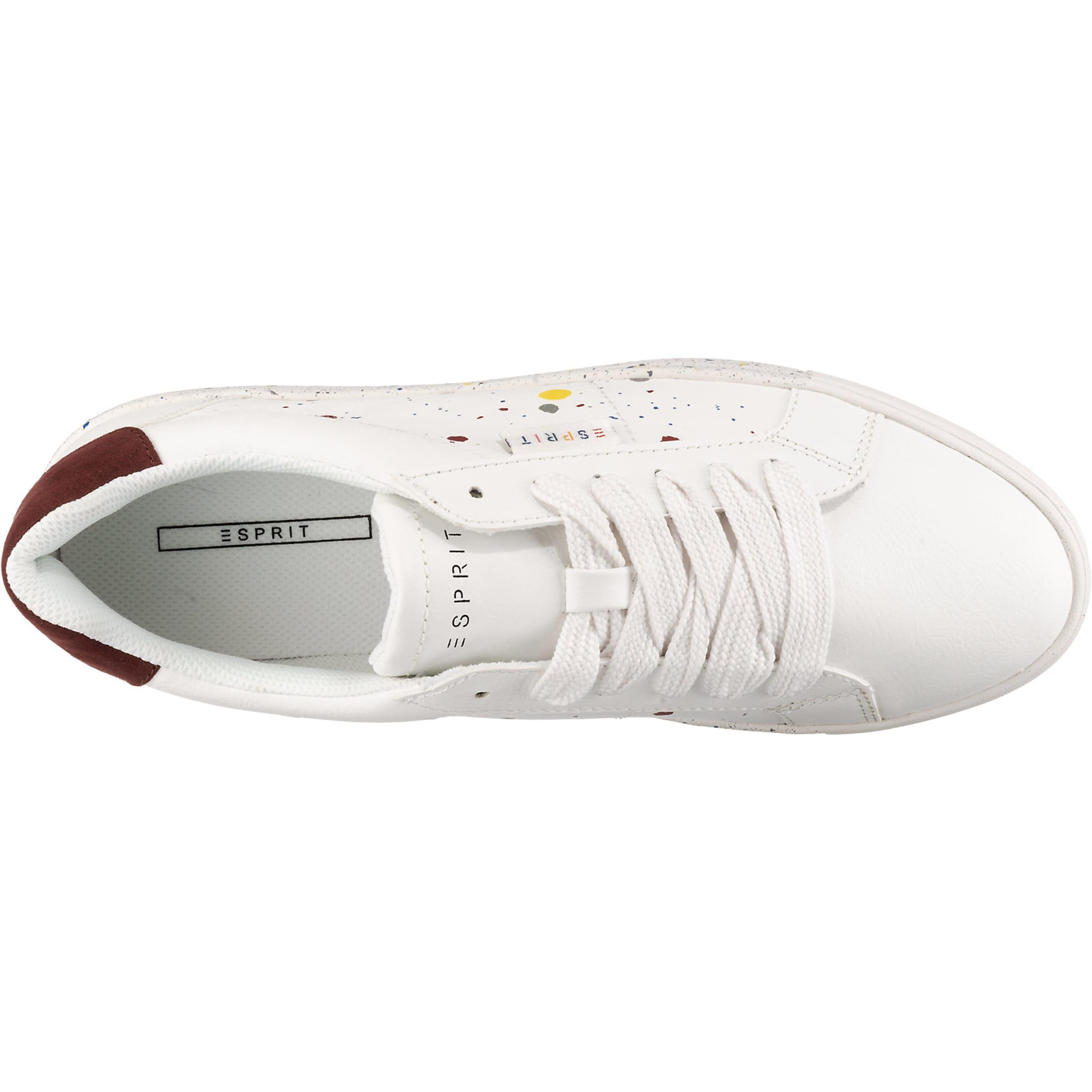 'colette Basses Baskets Esprit Spla En Blanc Lu' 354RjAL