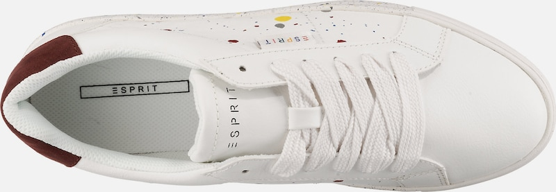 Baskets Blanc Basses Lu' En 'colette Esprit Spla xorBWQdCeE