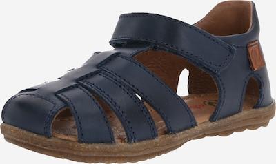 NATURINO Sandalen 'See' in ultramarinblau / braun, Produktansicht