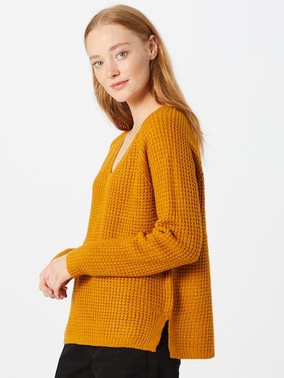VERO MODA Pullover 'Leanna' in goldgelb, Modelansicht