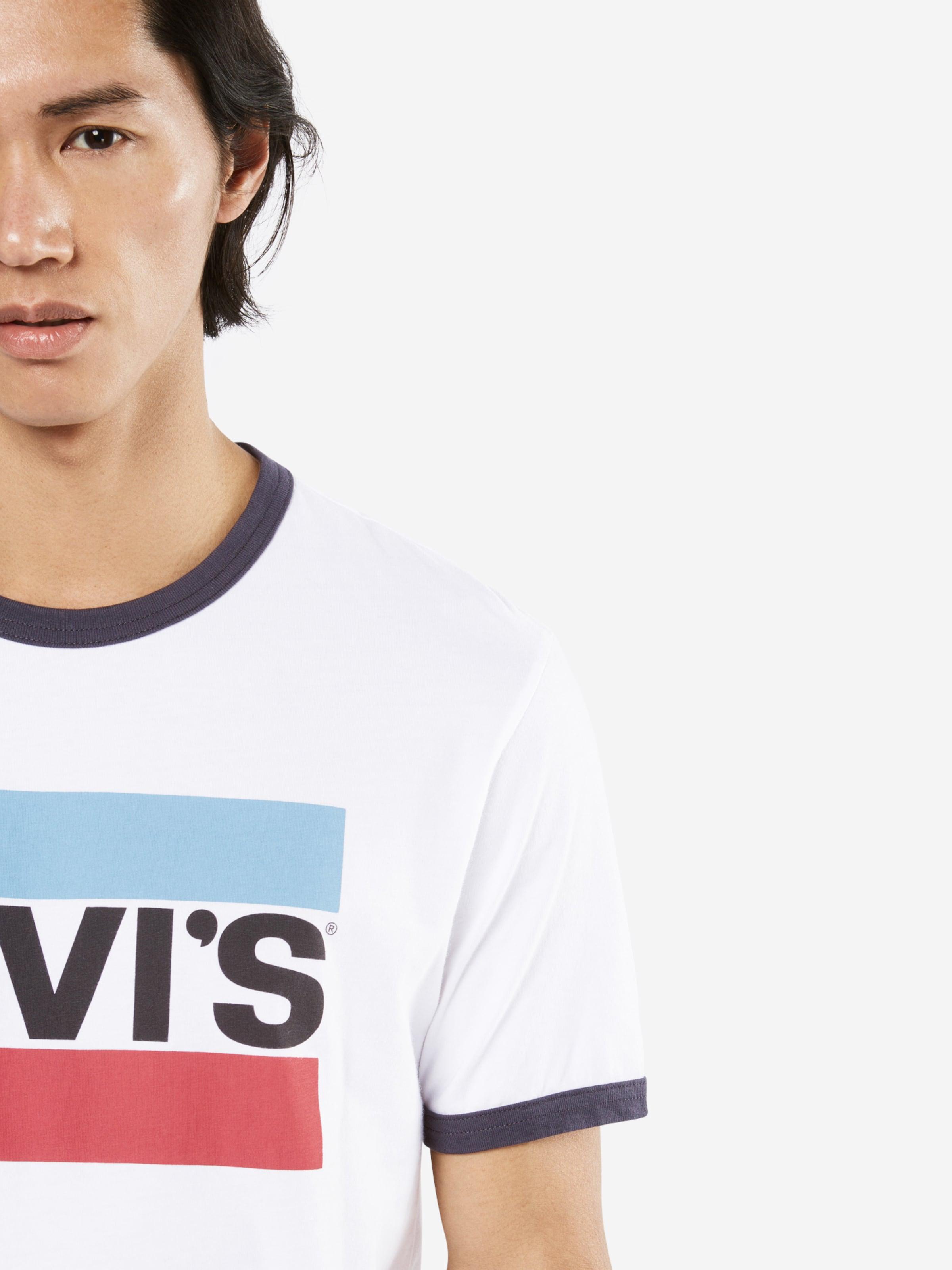 LEVI'S T-Shirt 'SS RINGER TEE SPORTSWEAR' Für Günstig Online Zum Verkauf Offizieller Seite Spielraum Angebote Günstig Kaufen Brandneue Unisex Mit Kreditkarte Online Wa9EF