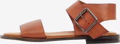 Bianco Breitriemen Sandalen in braun, Produktansicht