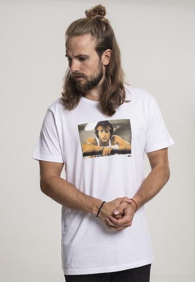 Mister Tee T-Shirt 'Rocky Break' in weiß: Frontalansicht