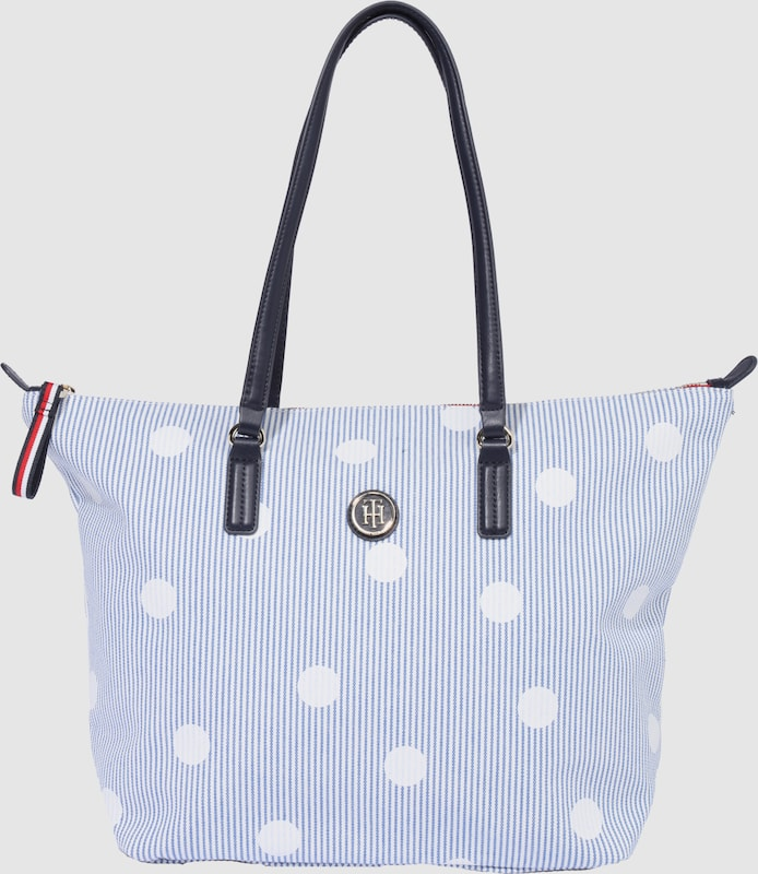 TOMMY HILFIGER Shoppertasche 'CANVAS PRINT'