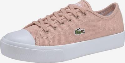 LACOSTE Sneaker in rosé / weiß, Produktansicht