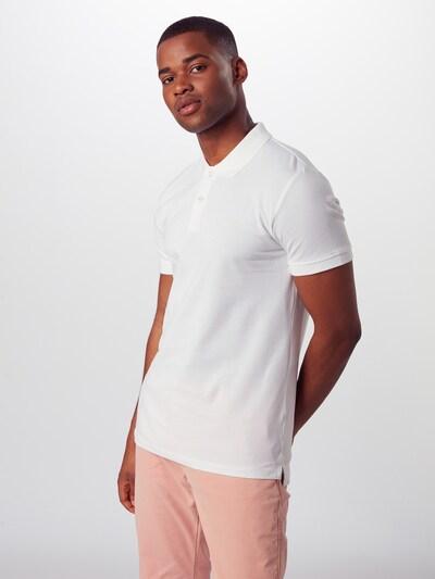 ESPRIT Poloshirt 'OCS N pi po ss' in weiß: Frontalansicht