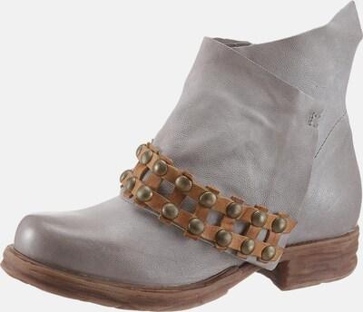 A.S.98 Boots 'Saintec' in Lichtgrijs
