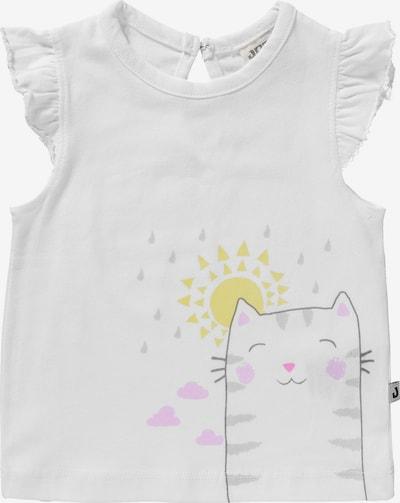 JACKY T-Shirt 'COME RAIN OR SHINE' in weiß, Produktansicht