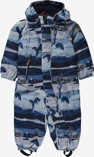 Reima Schneeanzug 'Puhuri' in rauchblau / hellblau / dunkelblau, Produktansicht