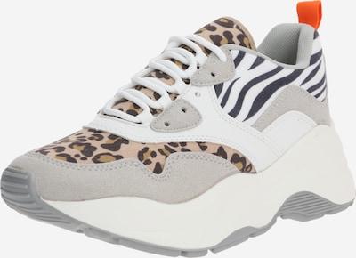 ONLY Sneaker 'STORM' in braun / grau, Produktansicht