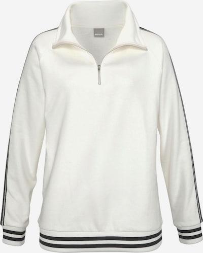 BENCH Sweatshirt in Black / White, Item view