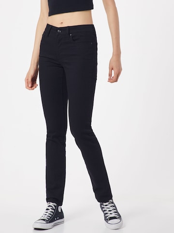 LEVI'S Jeans ''712' Slimfit' in Schwarz