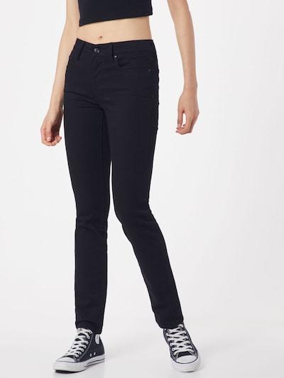 Džinsai ''712' Slimfit' iš LEVI'S , spalva - juoda, Modelio vaizdas