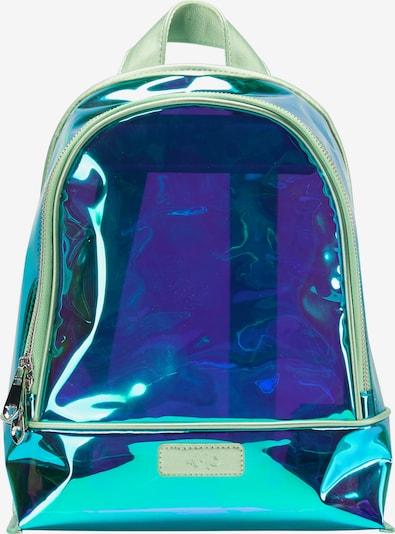 MYMO Rucksack in blau / transparent, Produktansicht