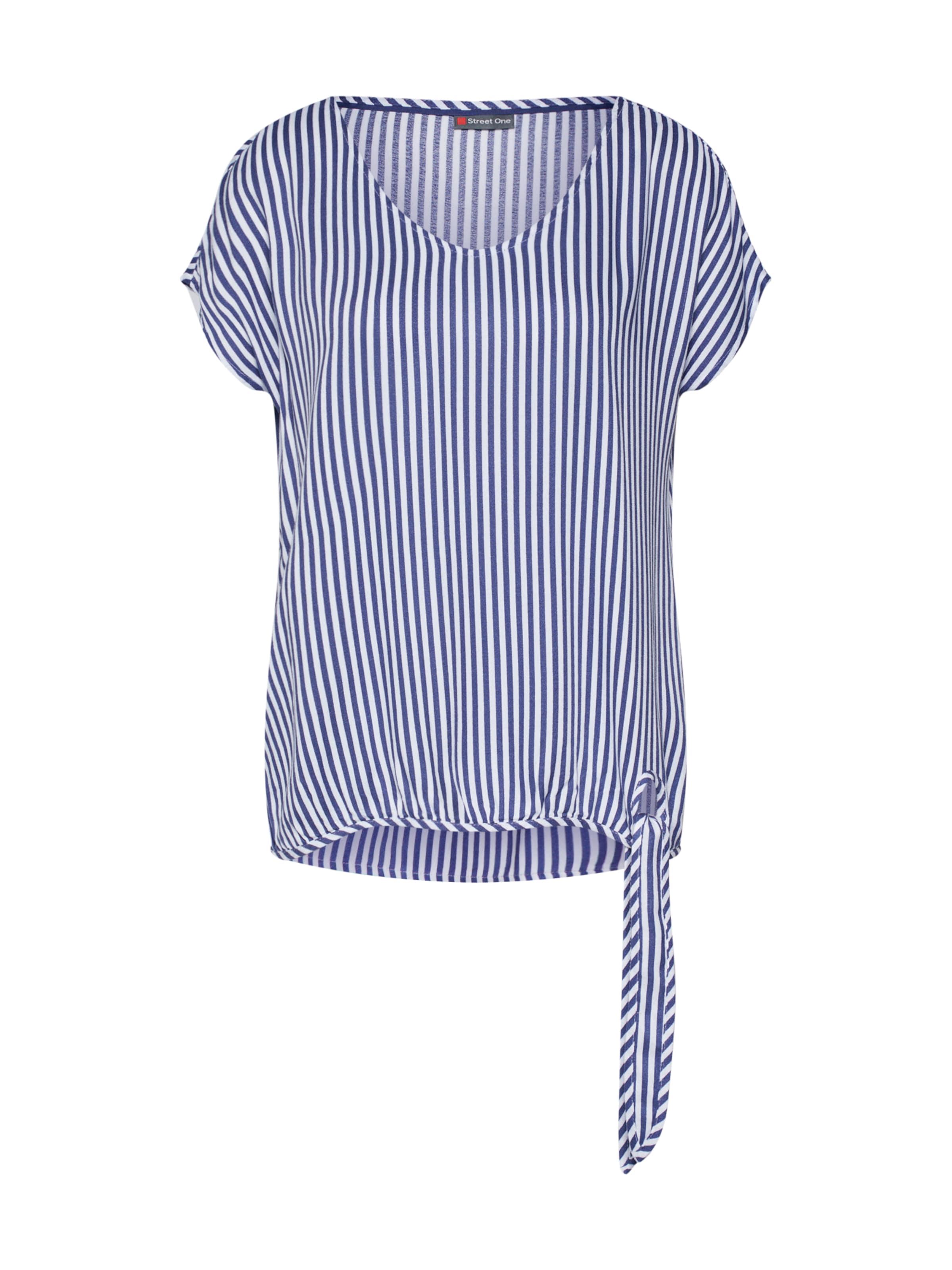 Street Bluse One Tala In 'ltd RauchblauWeiß Qr Stripe' PkXuZOi