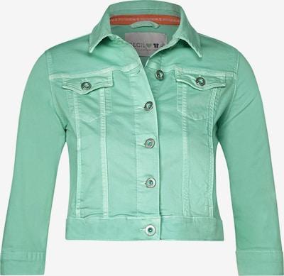 CECIL Denimjacke im Colour Style in grün / mint, Produktansicht