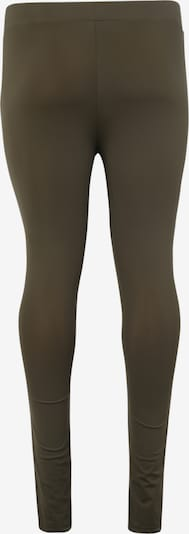 Urban Classics Leggings 'Ladies Tech Mesh Legging' en olive: Vue de dos