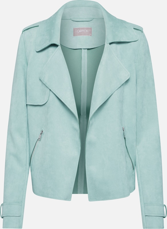 Cartoon Jacke in mint, Produktansicht