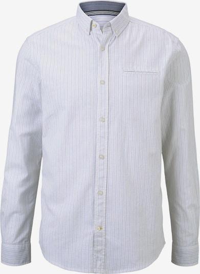 TOM TAILOR Hemd in hellbraun / weiß, Produktansicht