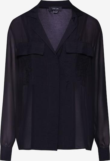 Lost Ink Bluse in schwarz, Produktansicht