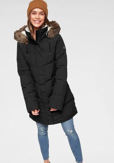 ROXY Steppmantel 'Ellie JK' in schwarz: Frontalansicht