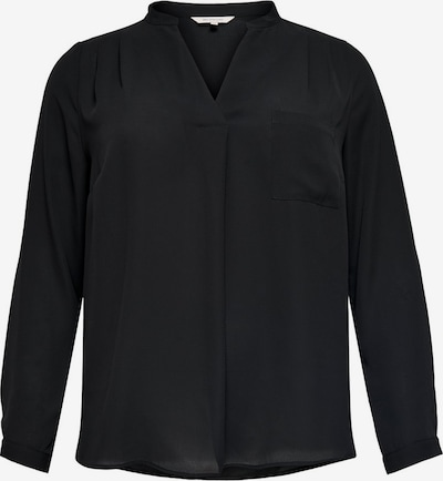 ONLY Carmakoma Bluse 'CARLAVENDER' in schwarz, Produktansicht