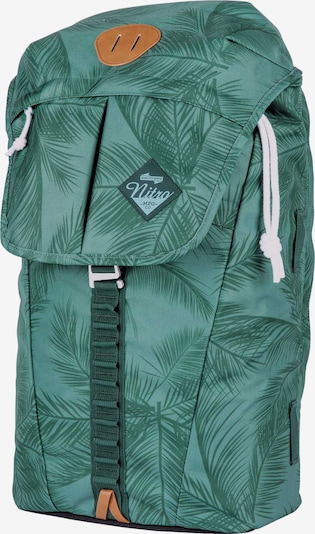 NITRO Rucksack 'Cypress' in smaragd / mint, Produktansicht