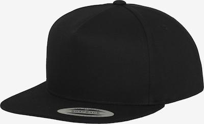 Flexfit Cap 'Classic 5' in schwarz, Produktansicht