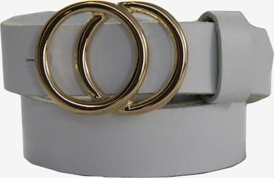 LEGEND Gürtel in gold / weiß, Produktansicht