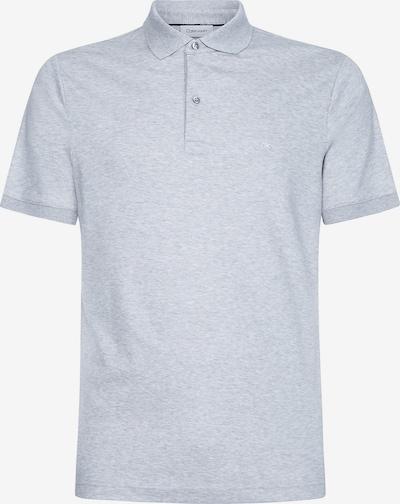 Calvin Klein Polo Shirt in graumeliert, Produktansicht
