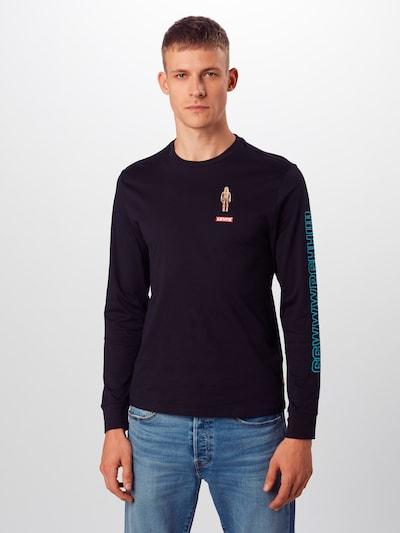 LEVI'S Majica 'TEE' | črna barva: Frontalni pogled
