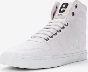 Ethletic High-Top Sneakers in White
