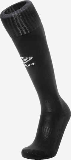 UMBRO Sockenstutzen 'Classico' in schwarz / weiß, Produktansicht