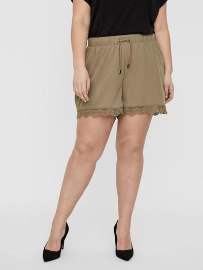 Junarose Normal Waist Spitzen Shorts in hellbraun, Modelansicht