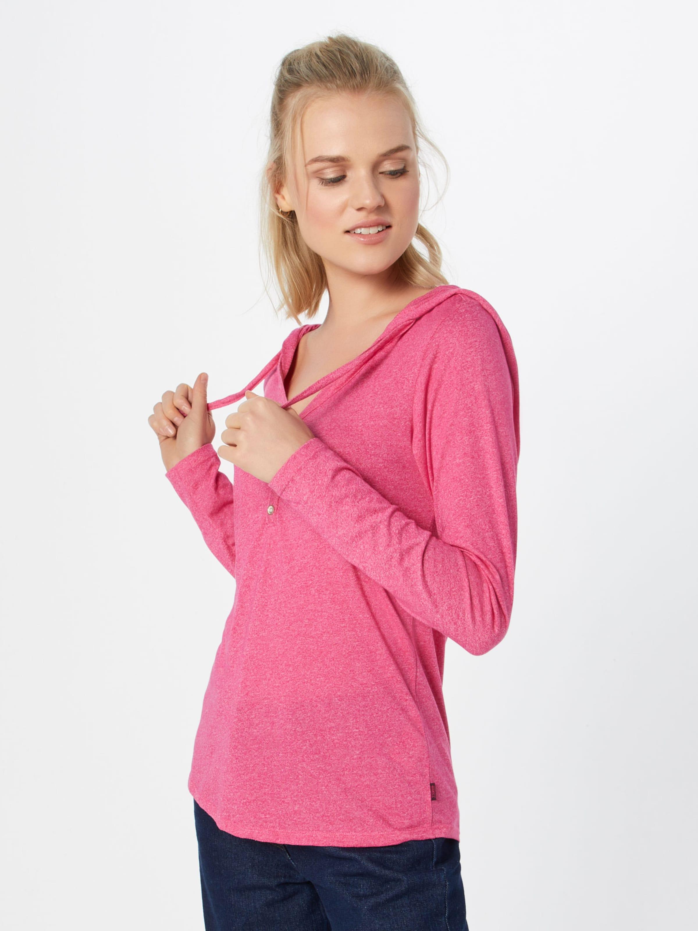 Marly O'neill 'lw Pink Loongsleve In Longsleeve Top' Rcq3j5AL4