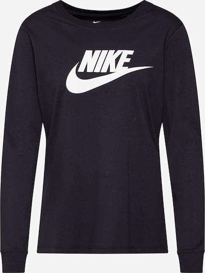 Tricou Nike Sportswear pe negru / alb, Vizualizare produs
