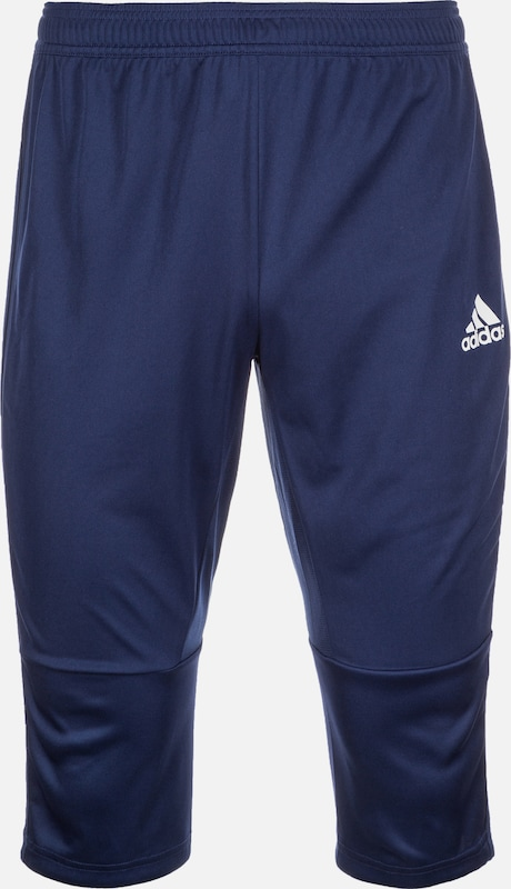ADIDAS PERFORMANCE Trainingshose 'Condivo 18 3/4 ' in dunkelblau: Frontalansicht