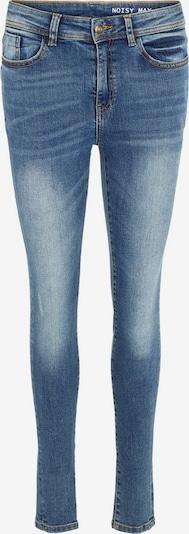 Noisy may Jeans 'NMVICKY' in de kleur Blauw denim, Productweergave