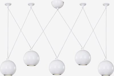 FAVOURITE Plafondlamp 'Giallo' in de kleur Wit, Productweergave