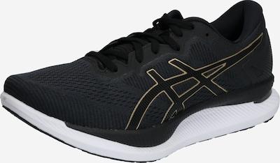 ASICS Chaussure de course 'Glidride' en or / noir, Vue avec produit