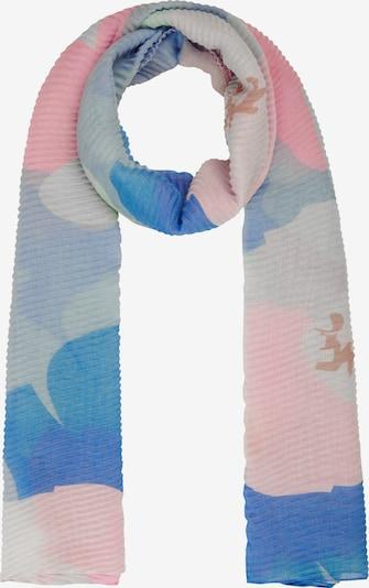 CODELLO Schal in blau / braun / rosa, Produktansicht