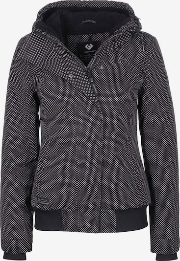 Ragwear Winterjacke ' Ewok Minidots W ' in schwarz, Produktansicht