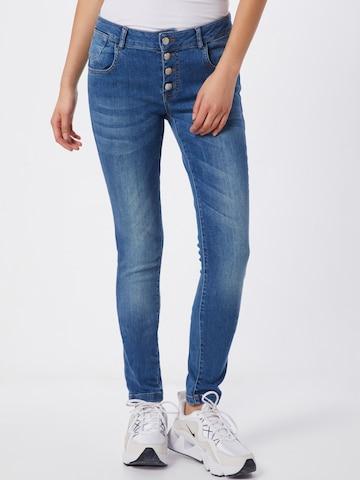 ZABAIONE Teksapüksid 'Jeans Kim', värv sinine