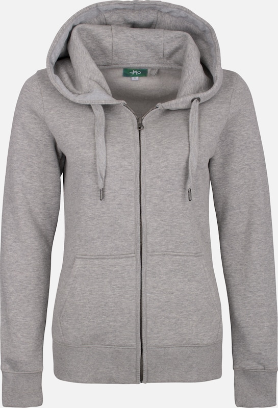 MYMO Sweatjacke in grau  Neu in diesem Quartal