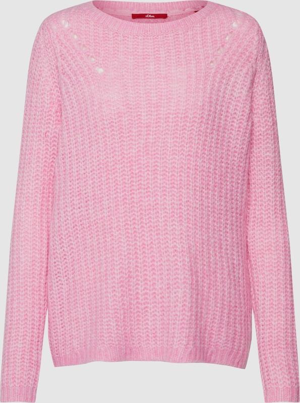 S.Oliver rot LABEL Pullover in rosé  Neue Kleidung in dieser Saison
