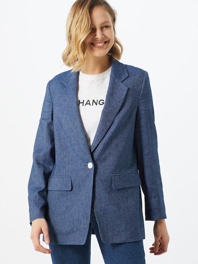 DRYKORN Blazer 'GADSDEN' in blau, Modelansicht